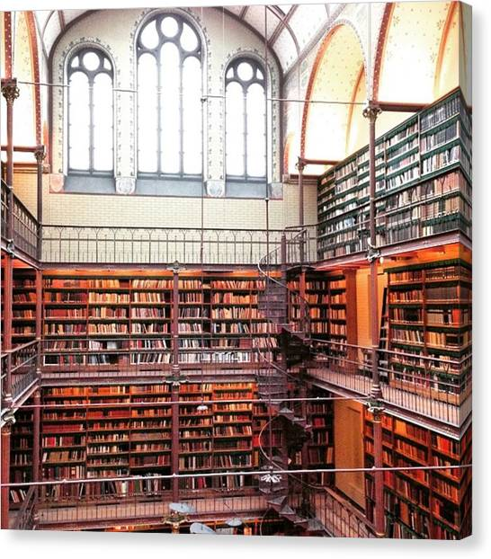 Rijksmuseum Canvas Print - #library #museum #old #architecture by Chikkas By Fran Galea