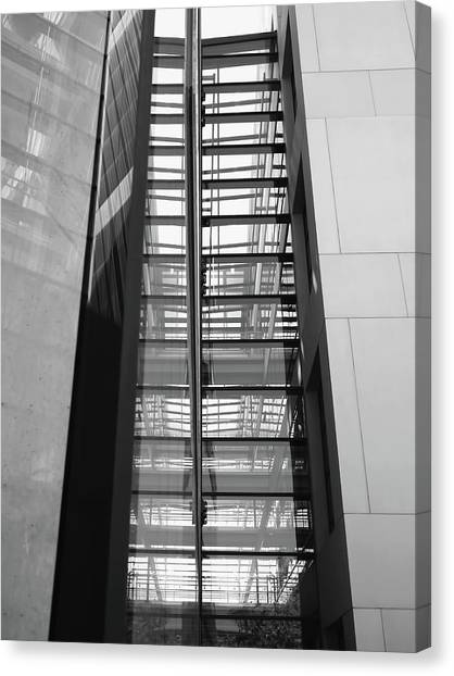 Canvas Print - Library Skyway by Rona Black