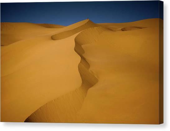 Libya Dunes Canvas Print