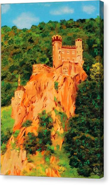 Lichtenstein Castle Canvas Print