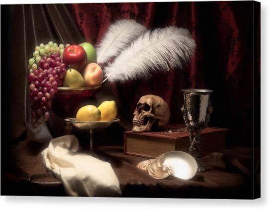 Symbolism Canvas Print - Life And Death In Still Life by Tom Mc Nemar