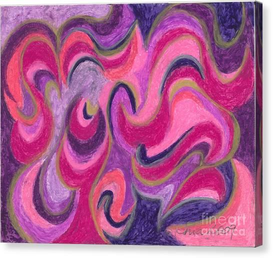Ania Milo Canvas Print - Life Energy by Ania M Milo