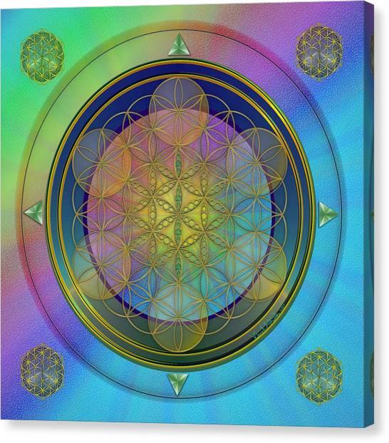 Life Flower Canvas Print