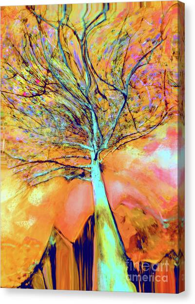 Life In The Trees Canvas Print
