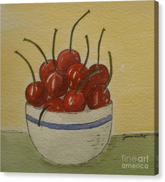 Life Is A Bowl Of.... Canvas Print
