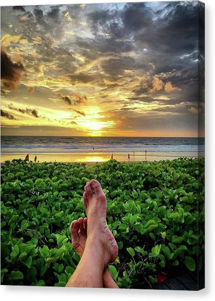 Life Is A Gift, Every Day Of Life Is Canvas Print by Arya Swadharma