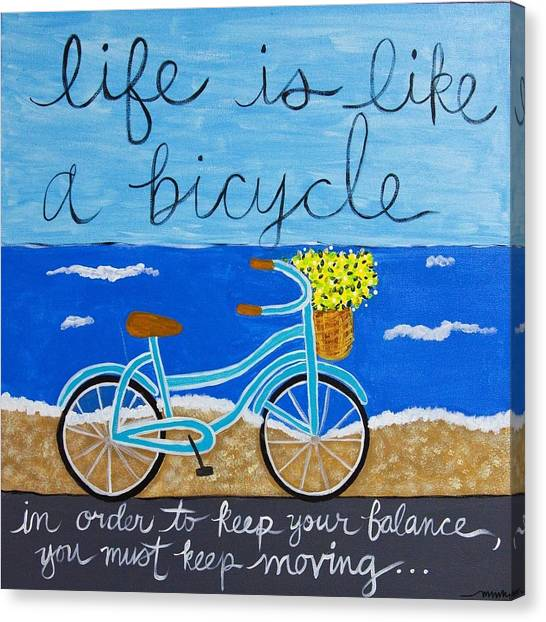 Life Is... Canvas Print