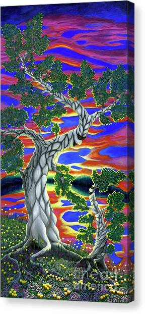 Life Of Trees Canvas Print