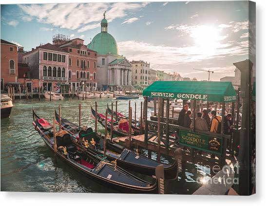 Life Of Venice - Italy Canvas Print