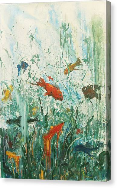 Life Under The Sea Canvas Print