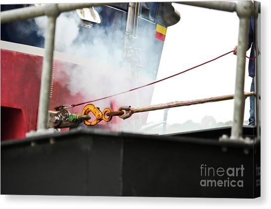 Lifeboat Chocks Away  Canvas Print