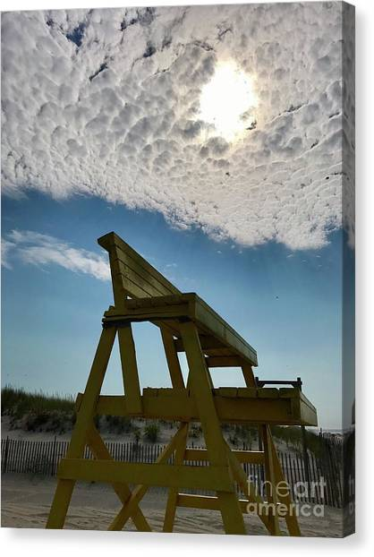 Lifeguard Chair Canvas Print