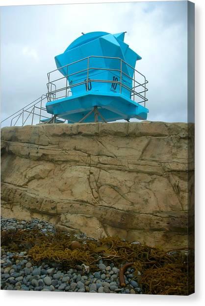 Lifeguard Lookout Canvas Print