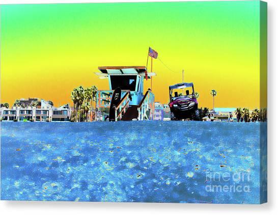Lifeguard Tower 1 Canvas Print