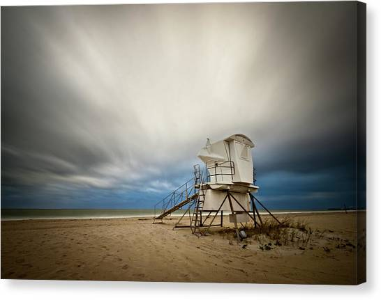 Lifeguard Tower Takeoff Canvas Print