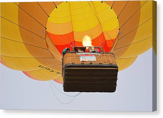 Canvas Print featuring the photograph Liftoff by AJ Schibig
