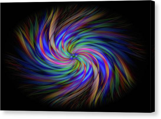 Light Abstract 2 Canvas Print