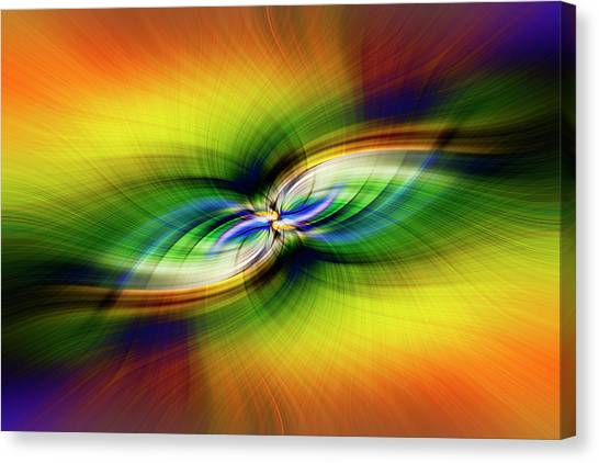 Light Abstract 9 Canvas Print