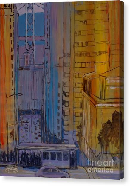 Light And Dark Canvas Print by Kip Decker