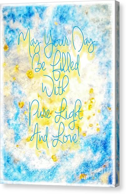 Light And Love Canvas Print