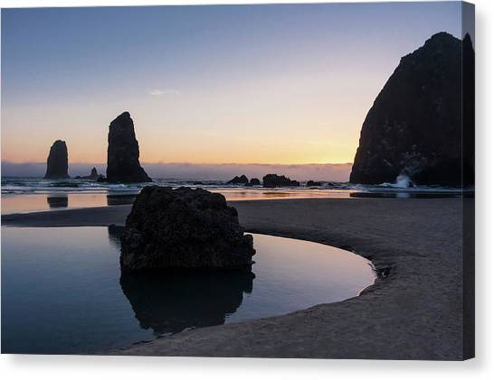Light And Tide Canvas Print