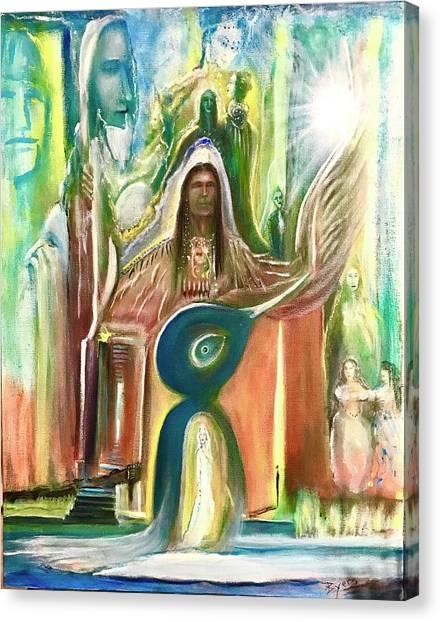 Light And The Awakening  Canvas Print