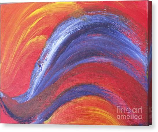 Light Harted Canvas Print