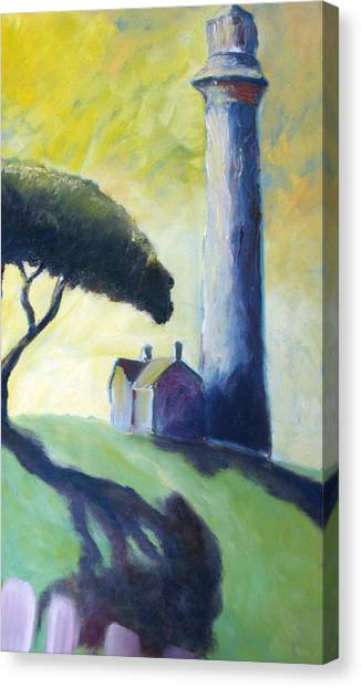 Light House Canvas Print by Mike Segura