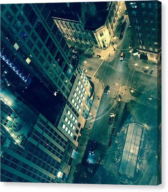 Light In The City 2 Canvas Print