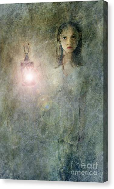 Night Gown Canvas Print - Light Keeper by Stephanie Frey