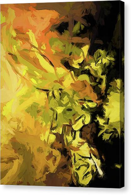 Light Of Gold Canvas Print