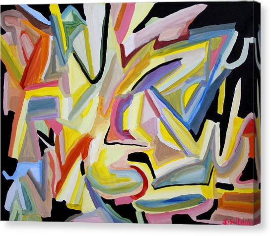 Light Overcomes Darkness Canvas Print by Iris Salmins