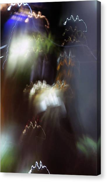 Light Paintings - No 4 - Source Energy Canvas Print