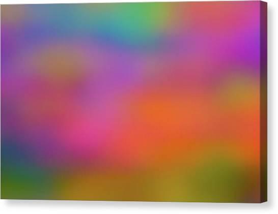 Light Painting No. 7 Canvas Print