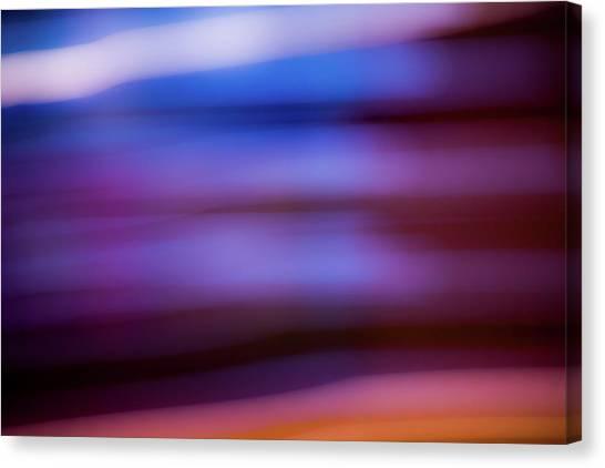 Violet Dusk Canvas Print