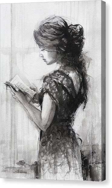 Light Reading  Canvas Print