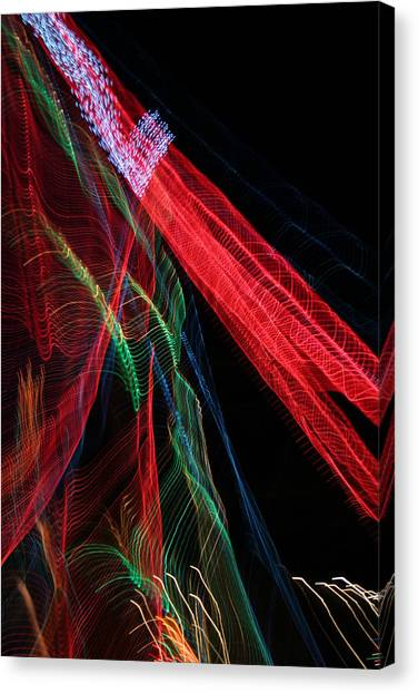 Light Ribbons Canvas Print