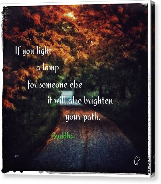 Light The Way Canvas Print