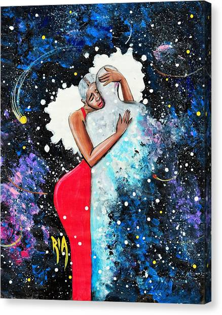Canvas Print - Light Years For Love by Artist RiA