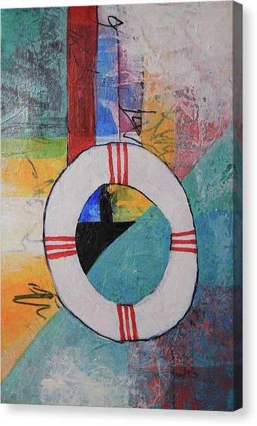 Lighthouse A Canvas Print