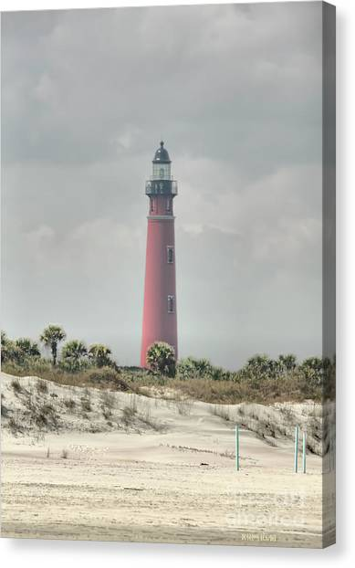 Lighthouse At Ponce Inlet Canvas Print