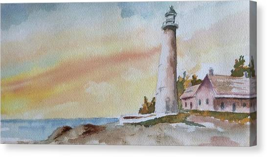 Lighthouse Canvas Print by Jim Stovall