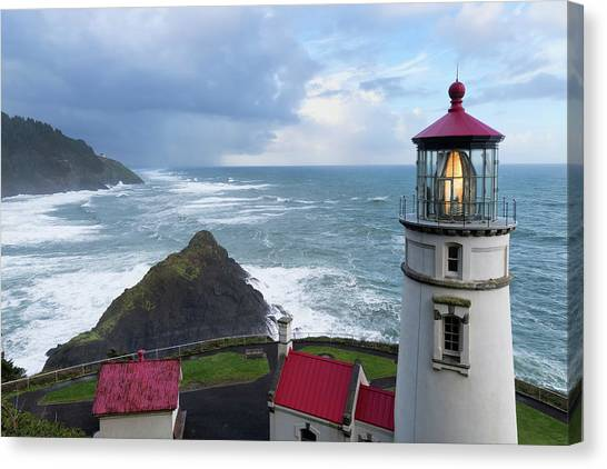 Lighthouse Keeper Canvas Print