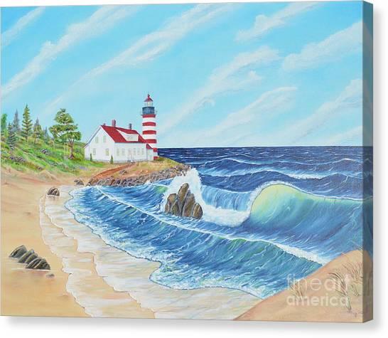 Lighthouse Life Canvas Print