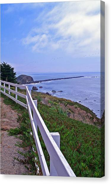 Lighthouse Look Out Canvas Print
