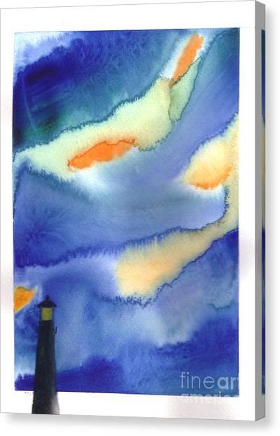 Lighthouse Canvas Print by Mui-Joo Wee