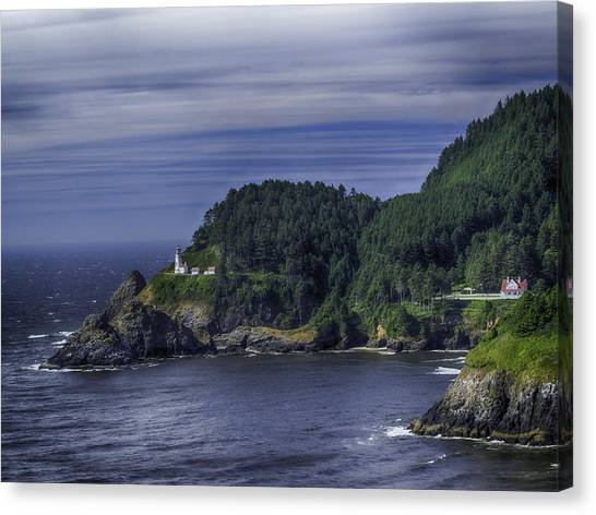 Lighthouse Sanctuary Canvas Print