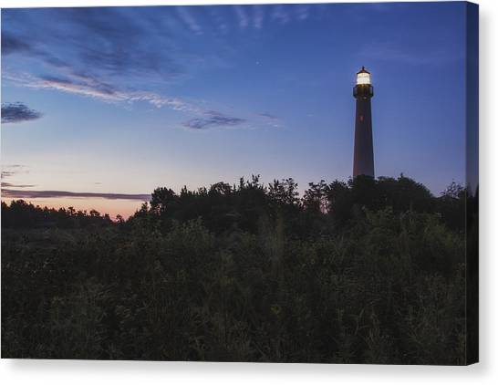 Lighthouse Summer Sunrise Canvas Print