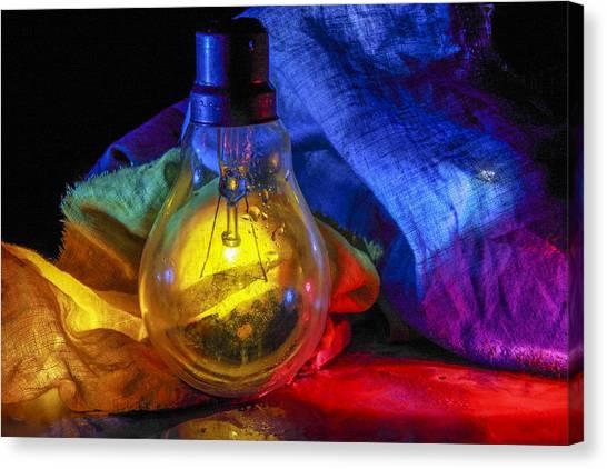 Lighting The Dark Canvas Print
