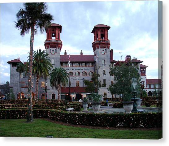 Lightner Museum Canvas Print by Tobi Czumak